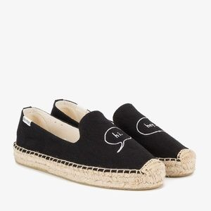 Soludos // Hey. Hi. Embroidered Espadrilles Sz 8